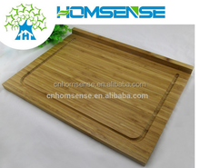 custom square bamboo cutting board for fruit,vegetable,meat