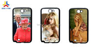 Good quality PC with metal sheet sublimation phone case for IP 5S