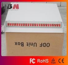 24 core 19 inch Fiber Optic Terminal Box Fc port,1.1 thickness