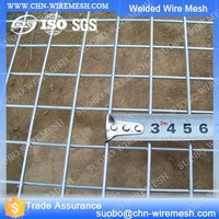 Square Wooden Fence Posts Temporary Construction Fence Panels Black Welded Wire Fence Mesh Panel