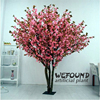 WF09121High Imitation pink Artificial Cherry Blossom Tree for Wedding indoor Decoration