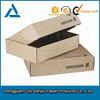 Custom design brown kraft paper box