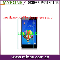 High quality tempered-glass screen protector shield for Huawei C8816