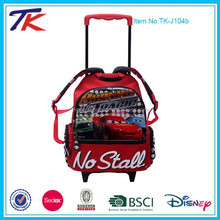 Kids School Car Trolley Bag