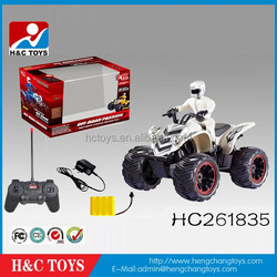 New 4 wheels 1:10 scale hot sale rc beach motorcycles with charge HC261835