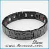 handmade jewelry natural materials, engraved stainless steel magnetic bracelet ,positive energy bracelet