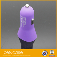 Manufacturer supply portable 2 port usb car charger, car charger dual usb for Laptop PC
