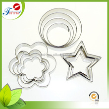 More fun 3D shapes high quality stainless steel cookie cutter