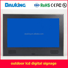 32 inch outdoor wall mounted air cooling sunlight readable water proof LCD TV