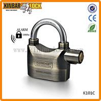 Alarm motorcycle disc lock