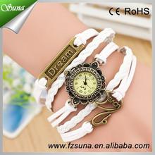 Newest Cheap Korea DIY Design Woven Bracelet Watch Women Wrist Dream Style Watches