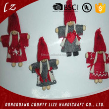 Wholesale China fabric tree ornament arts and craft best felt angel decor Christmas 2015 new hot items gifts
