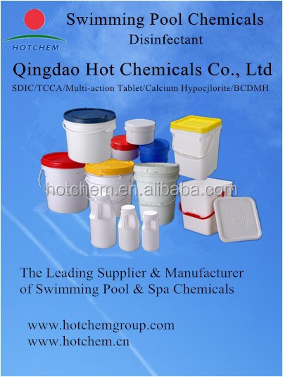 Swimming Pool Chemicals Product : Water treatment chemicals swimming pool chlorine tablets