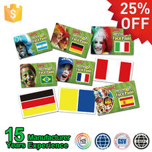 Soccer Fan Face Water Based Face Painting Pens