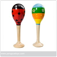 High Quality Wooden Maraca for Wholesale