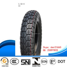 2015 good new fashion pattern high quality low price cheap TT&TL motorcycle tyre 3.5-8