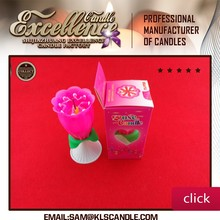 Edible birthday candle rotate /birthday candle auto music