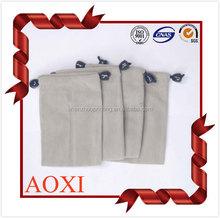 China online shopping customized colorful drawstring velvet fabric drawstring bag