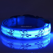 cheap wholesale pet dog led flashing harness collar leash dog reflective product