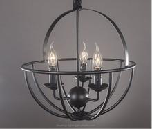 ZHONGSHAN BK1032-P antique interior led candle lights tellurion ball PENDANT LIGHT