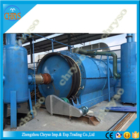 China 100% no pollution Hot Sale Price Recycle Pet Bottle Scrap Plastic oil Press Machinery Pyrolysis Plant