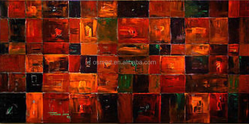 Pas cher et de haute qualit main peinture l 39 huile for Peinture de qualite
