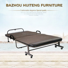 Wholesale metal folding bed with mattress