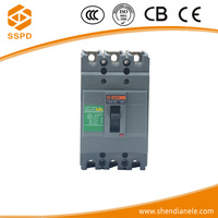 China suppliers New type item 3 poles general electric easypact 3p mccb best brand circuit breaker ezc 100a
