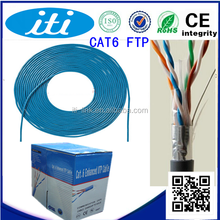 Factory best price CE /RoHS certified cat6 network cable 1000ft Hot Sale utp AWG26 cat6 network cable