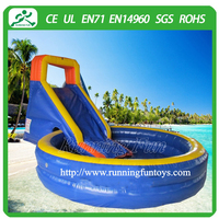 2015 water park slides for sale,inflatable water slide blower price