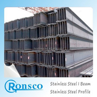 Hot Rolled 400 series Stainless Steel i-beam standard length prices