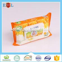 Alcohol free thick bebe lingette humide with natural aloe vera vitamin E