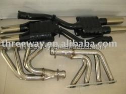 exhaust flex pipe for catalytic converter