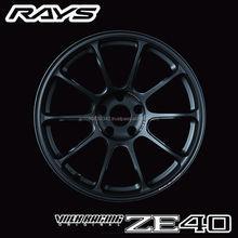 Durable Volk Racing ZE40 car wheel rim , option parts available