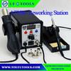 On Sale AT8586 2 in 1 SMD rework station , 220V SMD Rework Soldering Station Desoldering Station