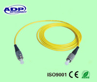 Multimode fiber optic patch cord cable with dual core / 2 core fiber optic cable 1km price