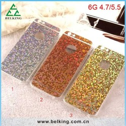 Acrylic Hard Fully Bling Covers Case For iPhone 6, Thin PC Bling Case For iPhone 6 Shiny Covers
