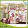 animals party appliques baby comforter set