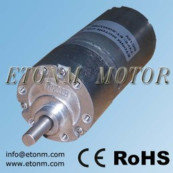 6-24 volt gear motor with precise metal gearbox for robotics