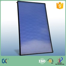 Aluminum full plate 80mm thick blue selective coating 5 years guaranty flat plate epdm solar pool heating collector
