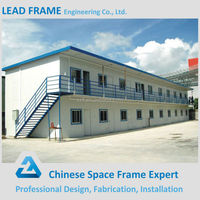 Galvanized Modern Modular Prefabricated Steel House for Sale