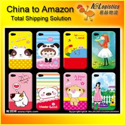 mobile phone cover fba logistics to amazon warehouse