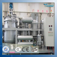 YNZSY series high efficiency change black oil to yellow used motor oil recycling plant