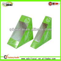 Hot Sale Paper Sandwich Box & Food Grade Ivory Board