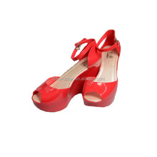 2015 High Heel Red Ladies Wear Wedding Sandal