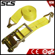 """4""""inchPolyester Truck Cargo Strap with Logo for Cargo Management System"""