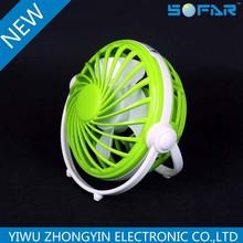 Wholesale Price mini desk fan Electric Portable USB Mini Fan Low Voltage