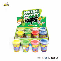 joke closestool putty toy/fart putty closestool toy/noise putty toy