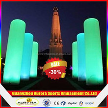 Party/events decorative Romantic LED pillar with factory price