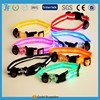 Dog Pet LED Flashing Collar Glowing Nylon Light Up Necklace (XS Size, Width 1.5cm)
